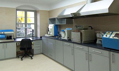 Оснащение литейной лаборатории